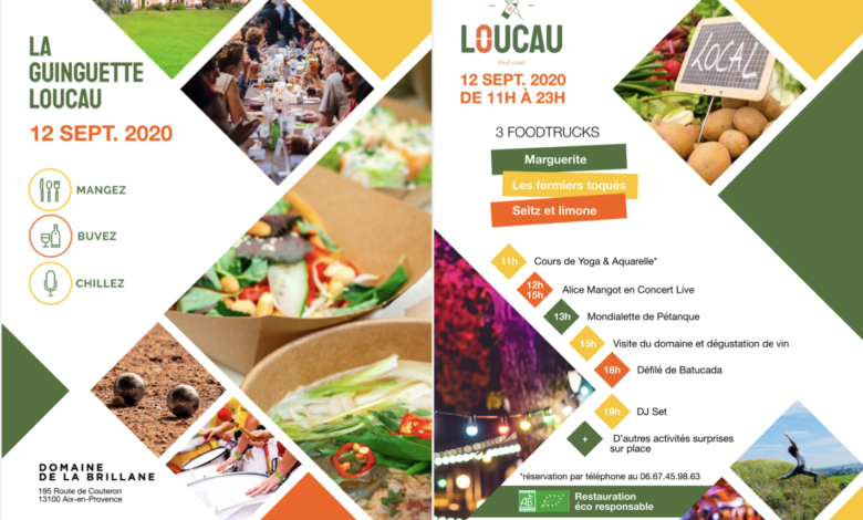 food court Loucau